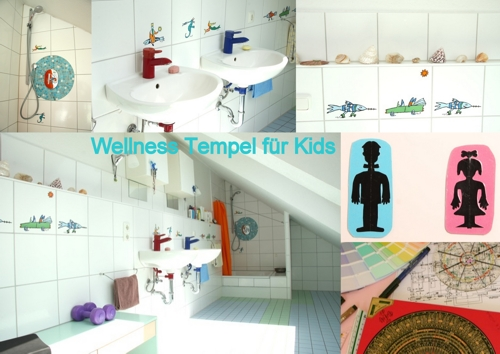 Feng Shui Badezimmer für Kinder